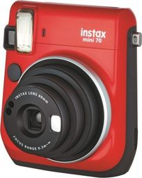 Aparat cyfrowy Fujifilm Aparat analogowy Fujifilm Instax Mini 70 Czerwony