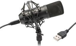 Mikrofon Tie Mikrofon TIE Condenser Mic USB black czarny
