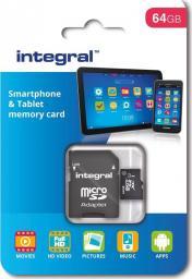 Karta Integral MicroSDXC Integral 64GB Class 10