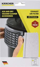 Worek do odkurzacza Karcher Kärcher Exhaust air filter for ash and dry vacuum AD 2, AD 4 premium - 2.863-262.0