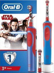 Szczoteczka elektryczna Braun Braun Oral-B Stages Power Star Wars, electric toothbrush(red / blue)