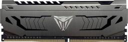 Pamięć Patriot Viper Steel, DDR4, 8 GB, 3200MHz, CL16 (PVS48G320C6)