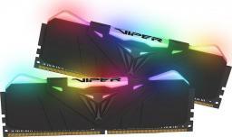 Pamięć Patriot Viper RGB, DDR4, 16 GB,3600MHz, CL17 (PVR416G360C7K)
