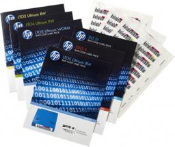 HP etykiety z kodami kreskowymi do HP LTO-6 (Q2013A)