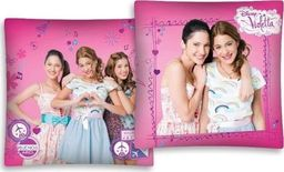 Łóżkoholicy Poszewka Jasiek Poduszkę 261 Violetta Disney  40x40