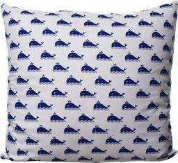Mówisz i Masz Poszewka Baw. 247D Wieloryby Granatowe 40x40