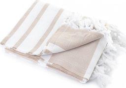 Tuva Home Ręcznik Kąpielowy Bawełniany Hamam Beż 100x180