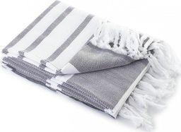 Tuva Home Ręcznik Kąpielowy Bawełniany Hamam Szary 100x180
