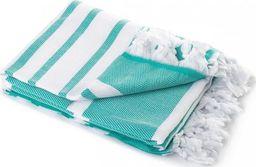 Tuva Home Ręcznik Kąpielowy Bawełniany Hamam Turkus 100x180