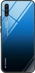 nemo Etui Szklane Glass case Gradient SAMSUNG GALAXY S10 czarno-niebieskie uniwersalny