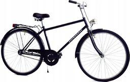 Rower Miejski 28 Universal Czarny