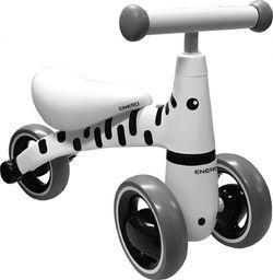ENERO  Rowerek Biegowy Jeżdzik Enero Biały Zebra