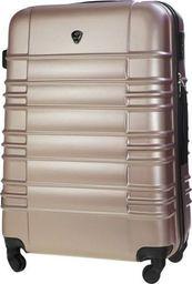 Kemer Średnia walizka KEMER 838 Złota uniwersalny