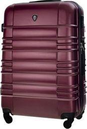 Kemer Mała kabinowa walizka KEMER 838 Bordowa uniwersalny