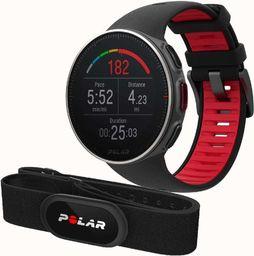 Polar Zegarek sportowy Vantage V TITAN czarny + pulsometr