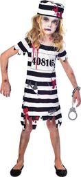 AMSCAN Kostium Więźniarka Zombie dla dziewczynki uniwersalny
