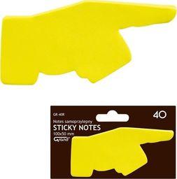 Grand Notes samoprzylepny GR-40R ręka