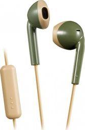 Słuchawki JVC Słuchawki z mikrofonem JVC HA-F19M-GC (douszne; TAK; kolor zielony