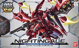 Figurka Figurka kolekcjonerska BANDAI SD Gundam Cross Silhouette Nightingale (Od 8 lat)