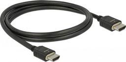 Kabel Delock HDMI - HDMI 1m czarny (85293)