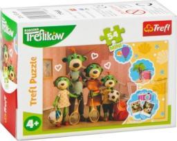 Trefl Puzzle 54 mini Wesoły świat Treflików 2 TREFL
