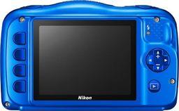 Aparat cyfrowy Nikon Aparat cyfrowy Nikon COOLPIX W150 VQA111K001 (Akumulator jonowo-litowy EN-EL19, Kabel USB UC-E21, Ładowarka sieciowa EH-73P, Pasek, Plecak, Szczoteczka (do czyszczenia osłony wodoszczelnej); kolor niebieski)