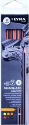 Lyra Ołówki grafitowe 5B-HB (6szt)