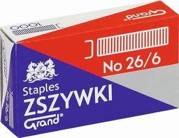 Grand Zszywki 26/6 (1000szt*10) GRAND
