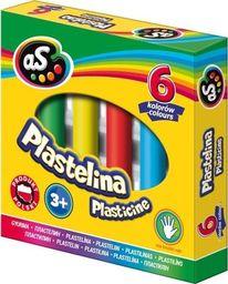 Astra Plastelina 6 kolorów AS