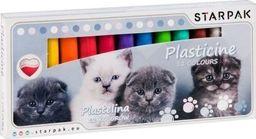 Starpak Plastelina 12 kolorów Cuties koty