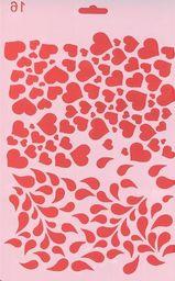 Koh-I-Noor Szablon 16 serca