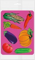 Panta Plast Szablony do obrysowania Warzywa