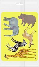 Panta Plast Szablony do obrysowania Zwierzęta Afryki