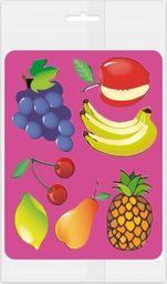Panta Plast Szablony do obrysowania Owoce