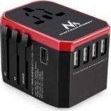 Maclean Adapter podróżny 4xUSB + USB-C (MCE238)