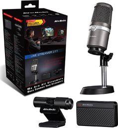 Mikrofon AVerMedia Zestaw akcesoriów AVerMedia 61BO311000AE