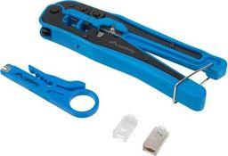 Lanberg Zestaw narzędzi sieciowe do kabli Lanberg NT-0303 (kolor niebieski)