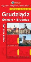 Plan Miasta- Grudziądz/Świecie/Brodnica -BR-