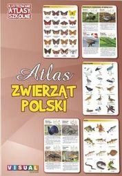 Ilustrowany atlas szkolny. Atlas zwierząt Polski