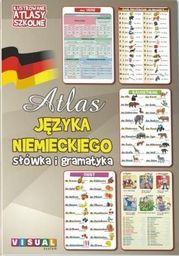 Ilustrowany atlas szkolny. Atlas j.niemieckiego