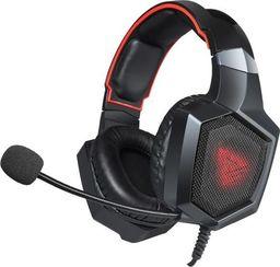 Słuchawki Savio Słuchawki Forge czarne