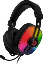 Słuchawki Thermaltake Pulse G100 3D RGB (HT-PLS-ANECBK-28)