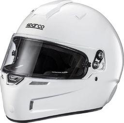 Sparco Kask kartingowy Sparco Sky KF-5W Biały (homologacja Snell) XXL