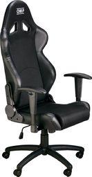 OMP Racing Fotel biurowy OMP MY16 AIR czarny uniwersalny