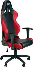 OMP Racing Fotel biurowy OMP MY16 czarno/czerwony uniwersalny
