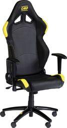 OMP Racing Fotel biurowy OMP MY16 czarno/żółty uniwersalny