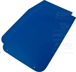 OMP Racing Fartuchy przeciwbłotne OMP niebieskie (50x30cm) uniwersalny