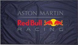 Red Bull Racing F1 Team Flaga Aston Martin Red Bull Racing uniwersalny