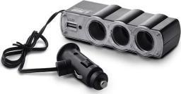 Elmak Rozdzielacz zapalniczki z gniazdem USB (SA023)