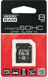 Karta MicroSD GoodRam 8GB (SDU8GHCUHS1AGRR10)